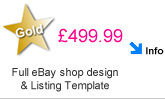 eBay Shop Design and listing design